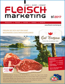 Fleisch-Marketing 9-2017 Titelseite