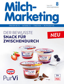 Milch-Marketing 8-18 Titelseite