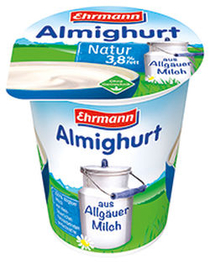 Ehrmann Naturjoghurt MM 2 2019